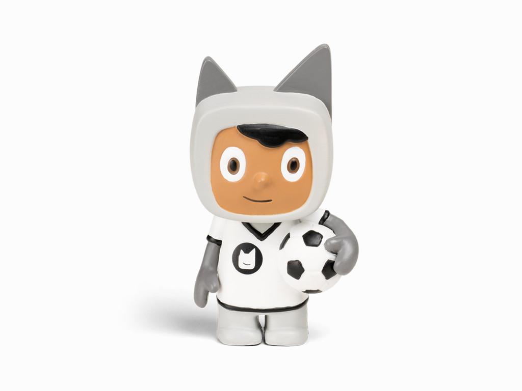 tonies Hörfiguren für Toniebox - Kreativ Fußballer - ca. 90 Minuten Speicher für Deine Musik, Geschichten, Hörbücher und Eigene Audiodateien - DEUTSCH Bild 1