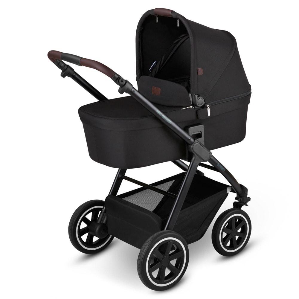 ABC Design 'Samba' Kombikinderwagen 2 in 1 2021 Midnight inkl. faltbarer Babywanne, Sportsitz und integriertem Sonnensegel Bild 1