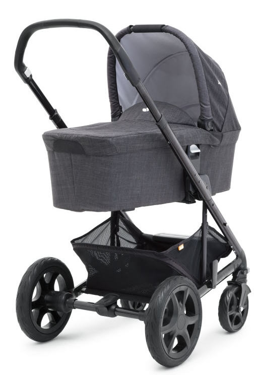Joie Chrome DLX Kinderwagen Set Kollektion 2021 Foggy Gray Bild 1