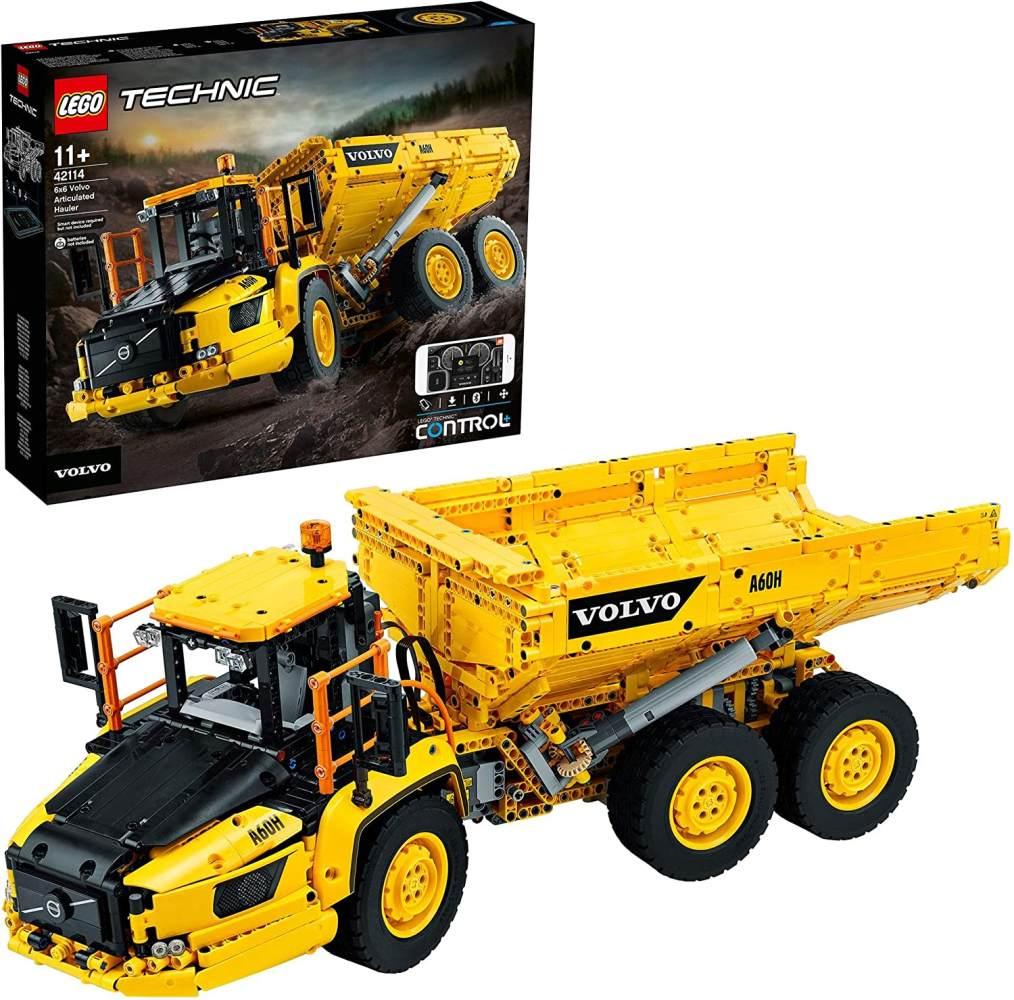 LEGO Technic 42114 'Knickgelenkter Volvo-Dumper (6x6)', 2193 Teile, ab 11 Jahren, viele Funktionen, steuerbar per App Bild 1