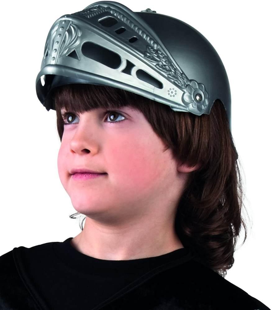 Boland 44033 - Ritterhelm für Kinder, Einheitsgröße, grau Bild 1