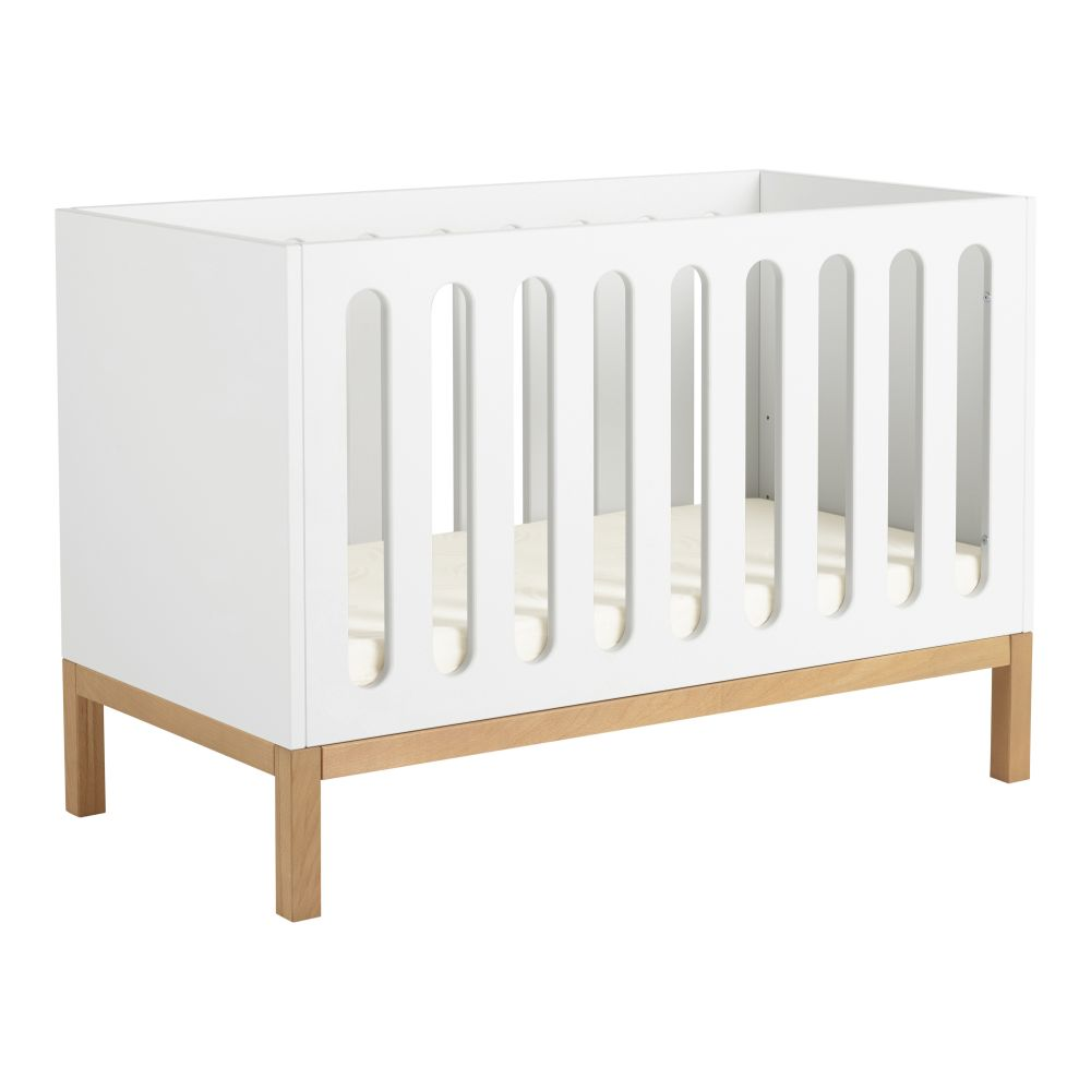 Quax 'Indigo' Babybett White 60 x 120 cm Bild 1