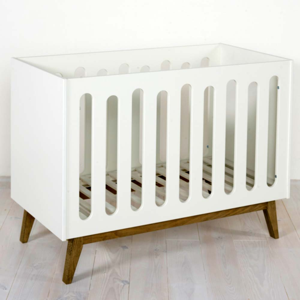 Quax 'Trendy' Babybett 60 x 120 cm weiß Bild 1