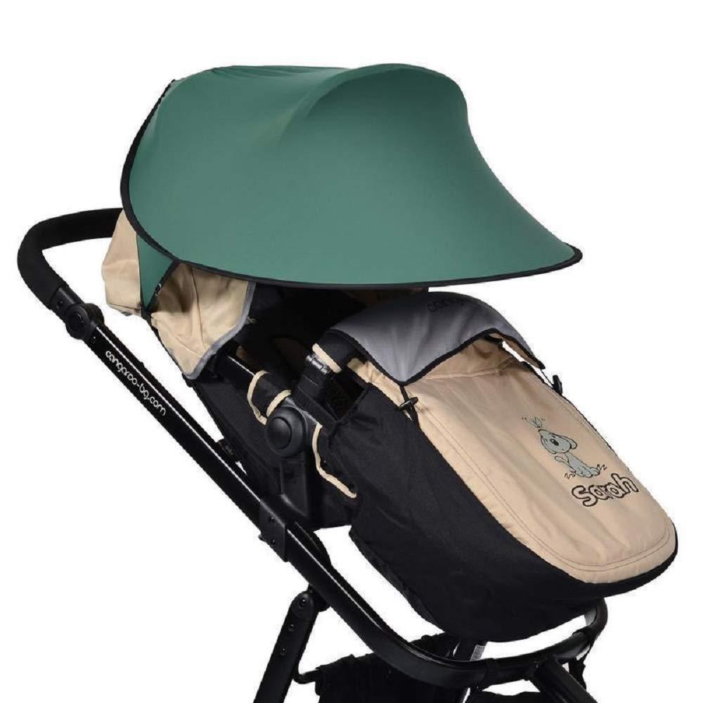 Cangaroo Universal Sonnenschutz für den Kinderwagen Grün Bild 1