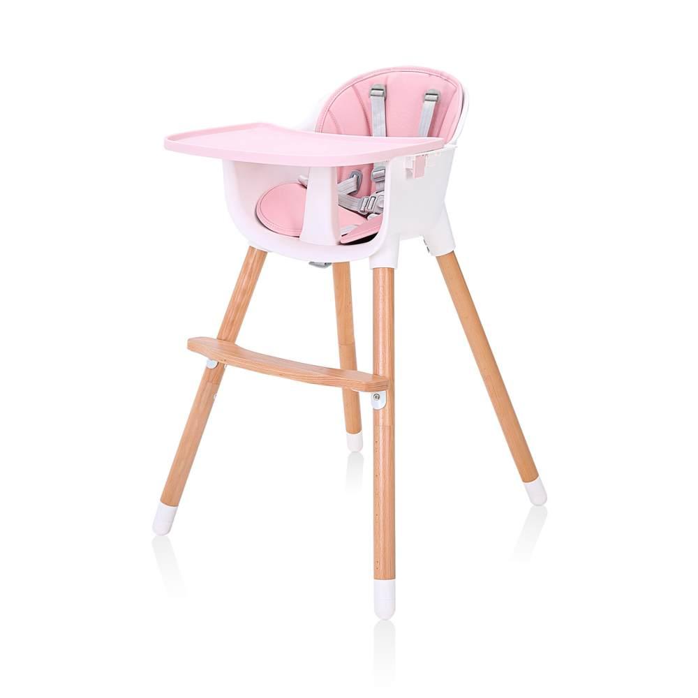 Baby Vivo 'Lani' 2in1 Hochstuhl Design pink Bild 1