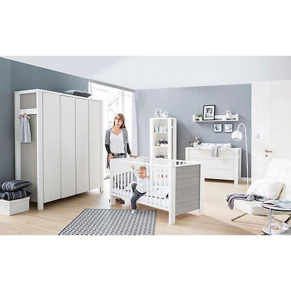 Schardt 'Milano Pinie' 2-tlg. Babyzimmer-Set extrabreit inkl. Bett und Kommode Bild 1