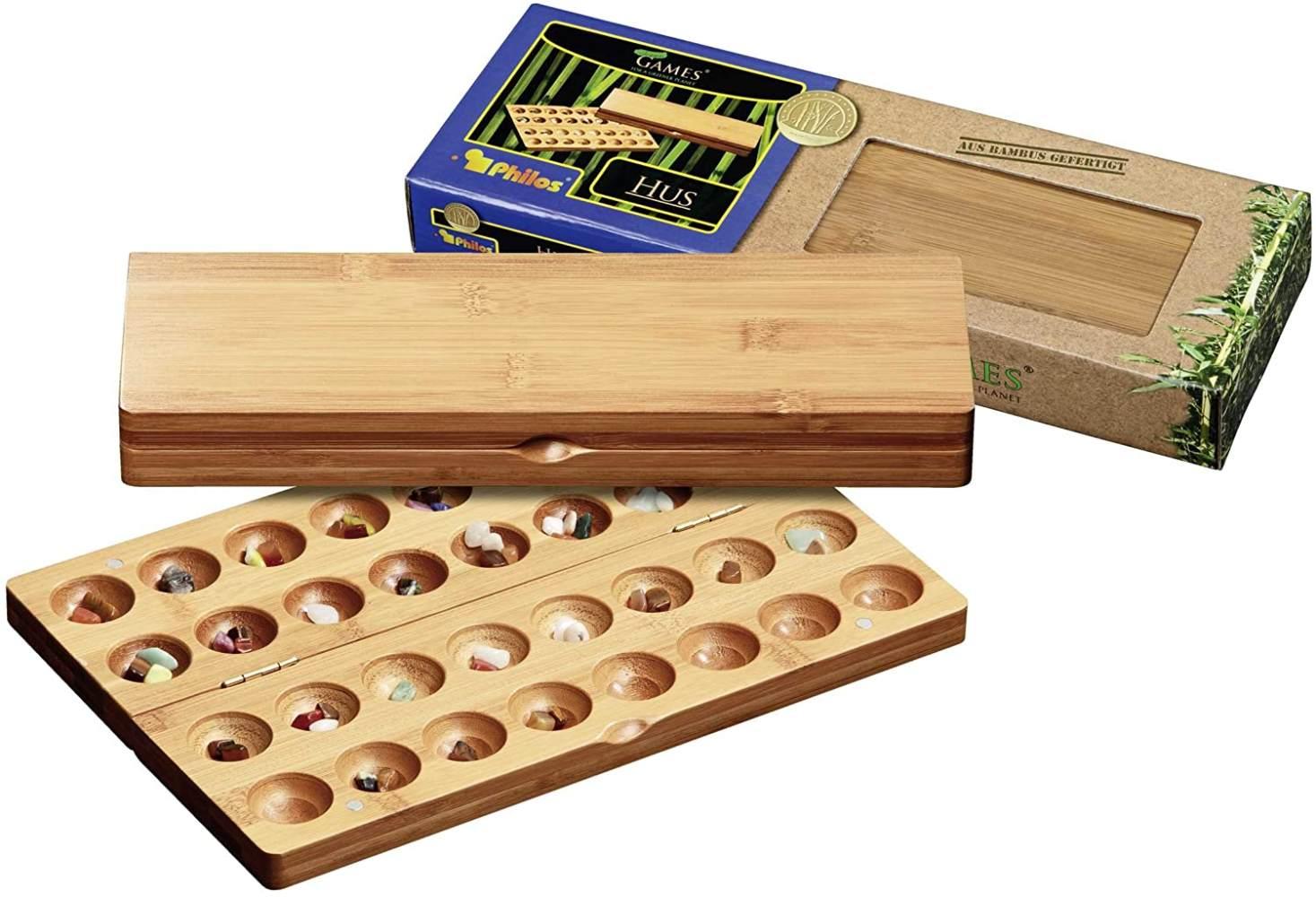 Philos 'Hus, Bambus, klein' Brettspiel, ab 6 Jahren, 2 Spieler, ca. 10 min Spielzeit Bild 1