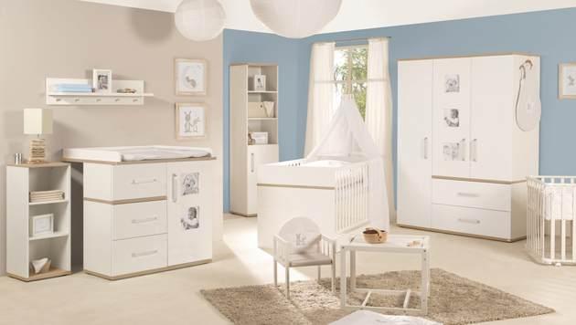 Roba 'Pia' 3-tlg. Babyzimmer-Set Kommode breit Bild 1