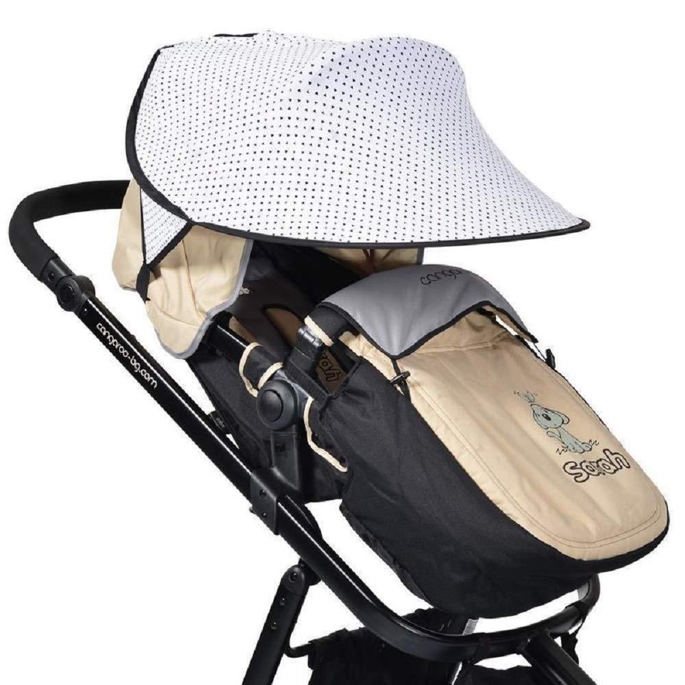 Cangaroo Universal Sonnenschutz für den Kinderwagen Gepunktet Bild 1