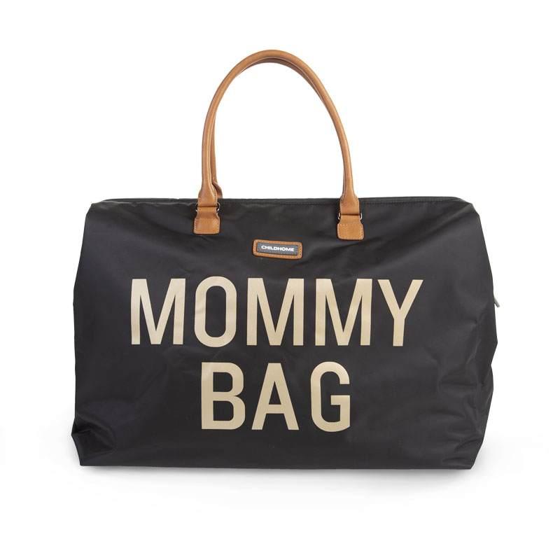 Childhome 'Mommy Bag' Wickeltasche, Schwarz/Gold Bild 1