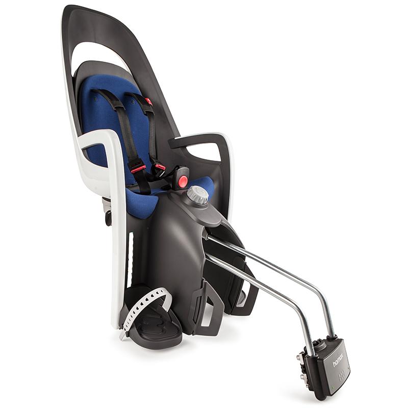 Hamax 'Caress C3' Kindersitz blau, bis 22 kg inkl. Rahmenhalterung Bild 1