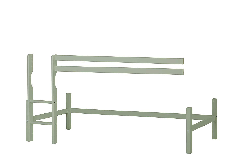 Hoppekids 'Basic Color' Halbhohes Modul für Bett 90 x 200 cm, Pale Green Bild 1
