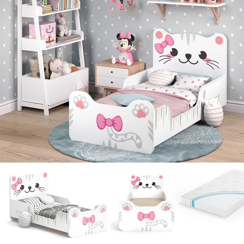 VITALISPA 'IZZY' Kinderbett 80x160 cm weiß, inkl. Matratze Bild 1