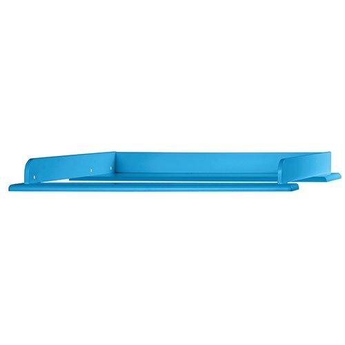 Miami Wickelaufsatz 80x75cm, passend Kommoden, Holz, blau metallic, 80.8 x 97.6 x 8 cm Bild 1