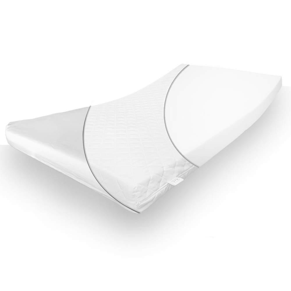 Alcube Schaumstoffmatratze 80x160 cm, mit abnehmbarem und waschbarem Matratzenbezug, inkl. Spannbettlaken Bild 1