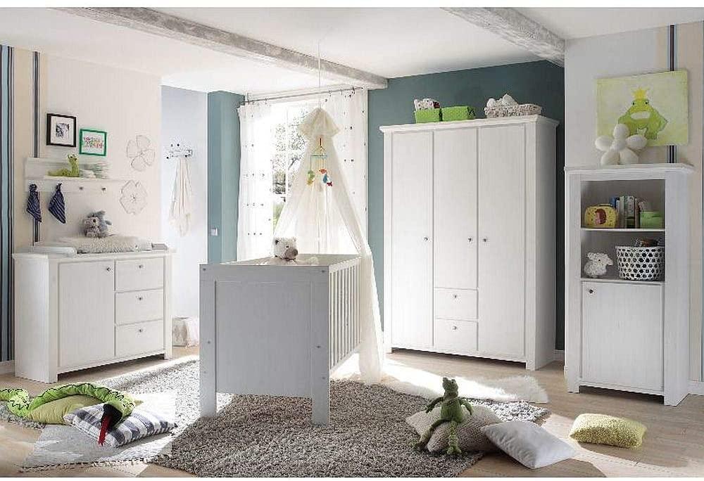 Storado 'Dandy' 4-tlg. Babyzimmer-Set anderson pine Bild 1