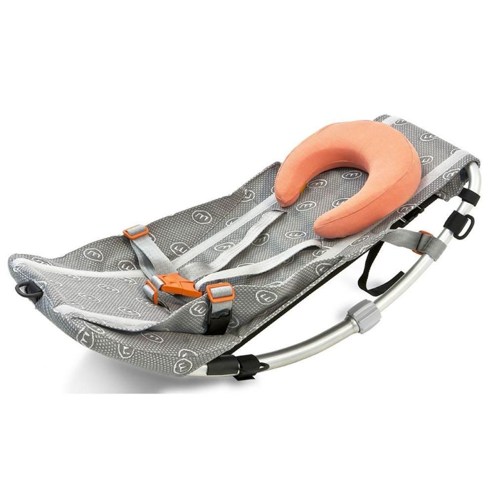 Weber Babyschale für Fahrradanhänger inkl. Nackenhörnchen Bild 1