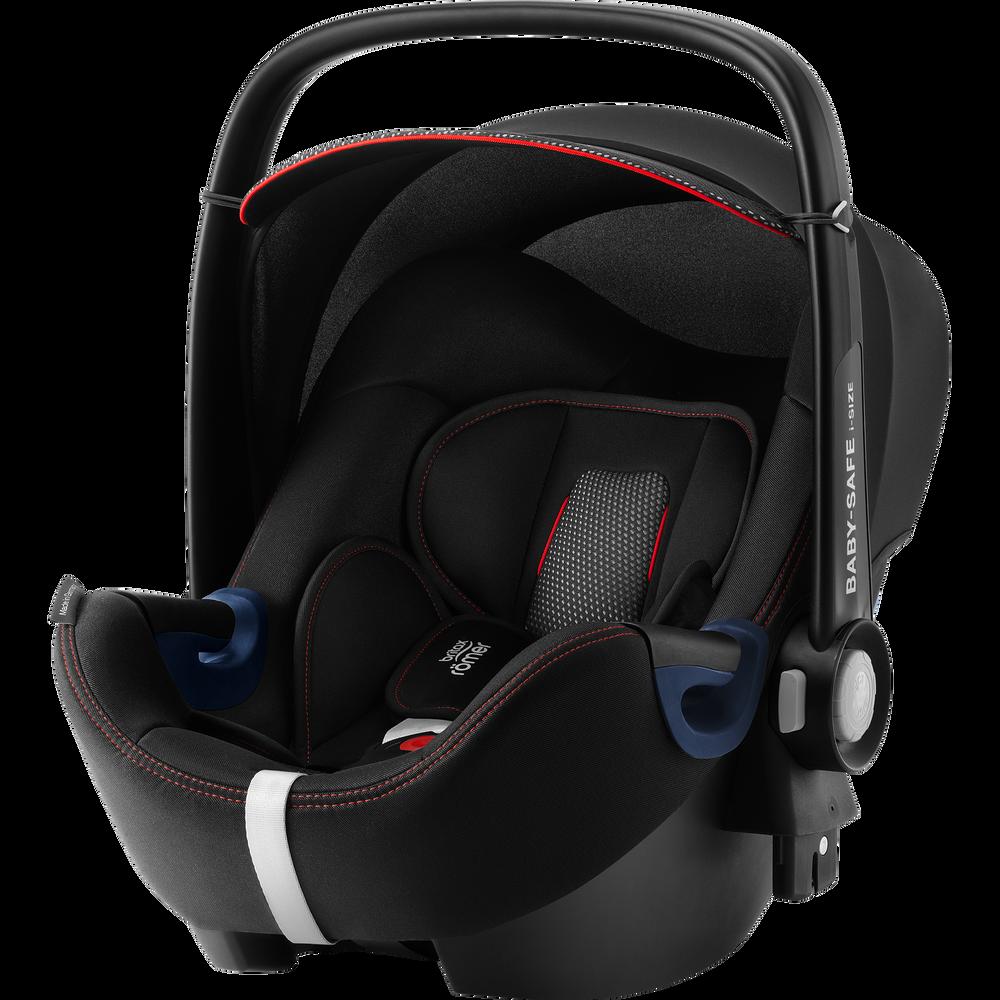 Britax Römer 'Baby-Safe 2 i-Size Cool Flow' Babyschale 2020 Black Gruppe 0+, mit Base Bild 1