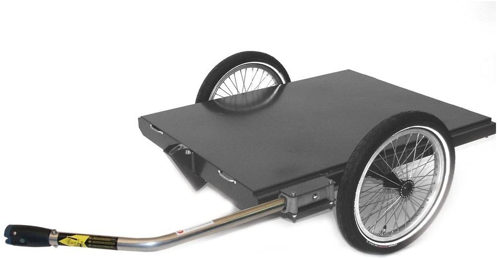 Roland 21 Zoll Duo² Inklusive Buggyrad Fahrradkinderanhänger, blau Bild 1