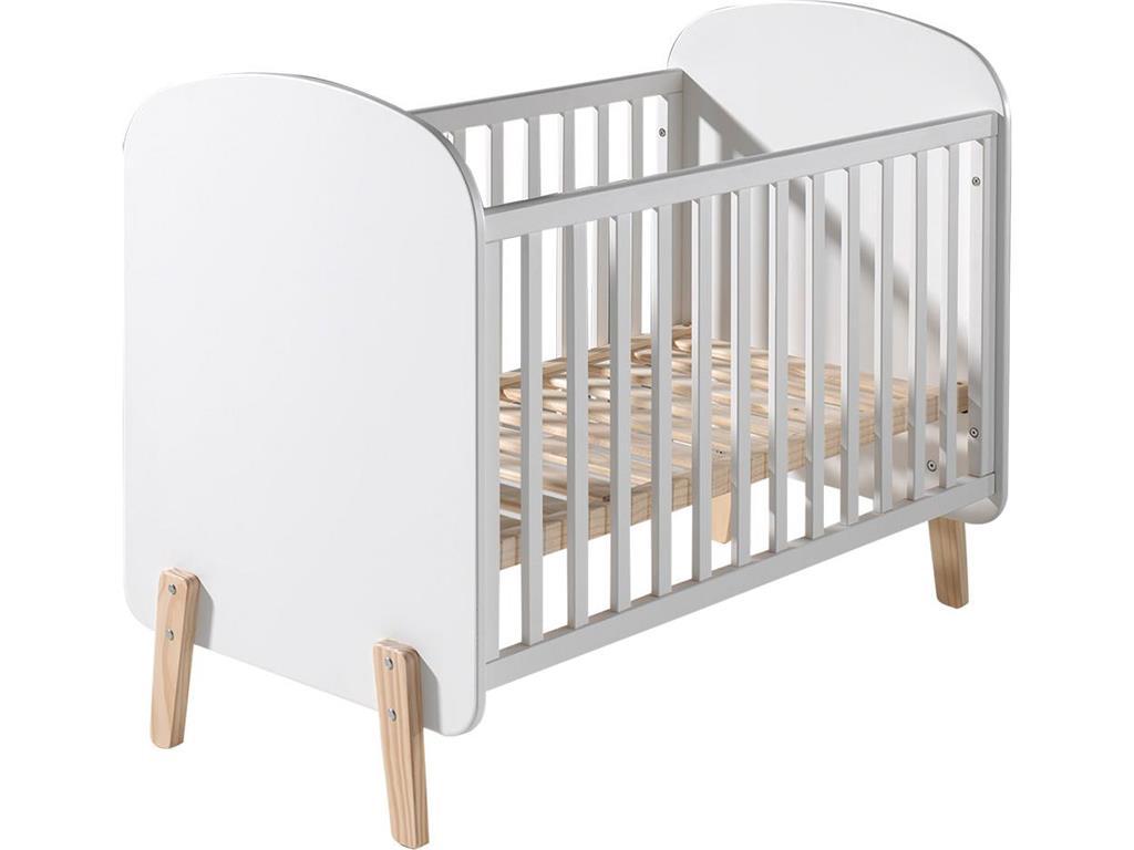 Vipack Babybett 'Kiddy' weiß Bild 1