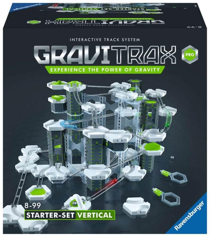 Ravensburger 'GraviTrax Pro Starter-Set Vertical' - interaktives Kugelbahnsystem mit zahlreichen Elementen Bild 1