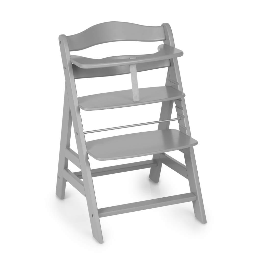 Hauck 'Alpha+' Treppenhochstuhl, grau, ab 6 Monaten, mitwachsend, höhenverstellbar, bis 90 kg belastbar Bild 1