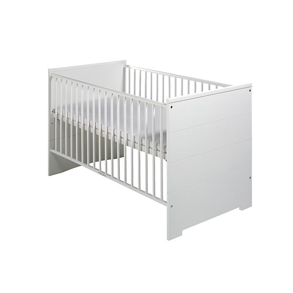 Schardt 'Eco Stripe' Kombi-Kinderbett weiß Bild 1