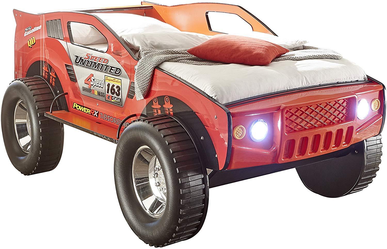 Bega 'SUV' Autobett rot, 90x200 cm, inkl. Beleuchtung Bild 1