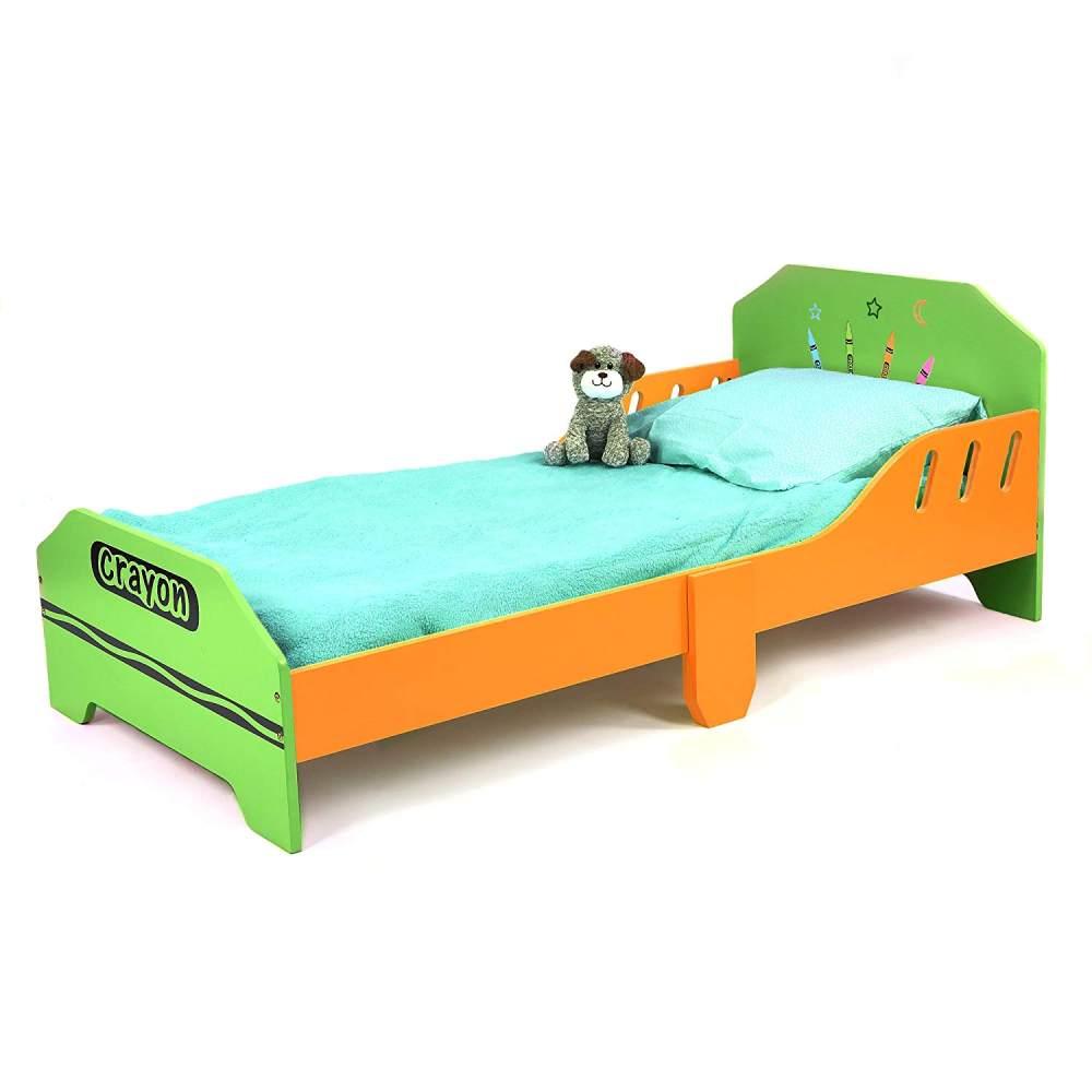 Kiddi Style Kinderbett orange/grün Bild 1