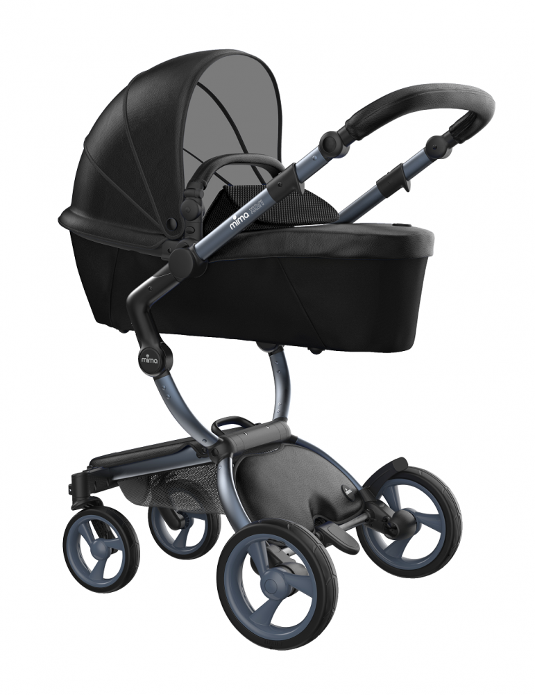 Mima Xari Design Kinderwagen Kollektion 2021 Graphite Grey Schwarz Bild 1