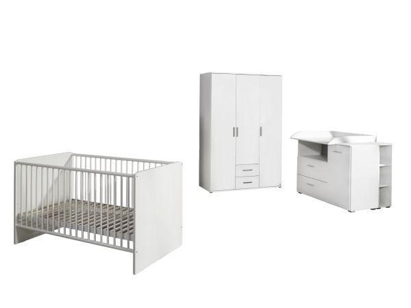 Rauch 3-tlg. Babyzimmer-Set Madlen weiß Bild 1