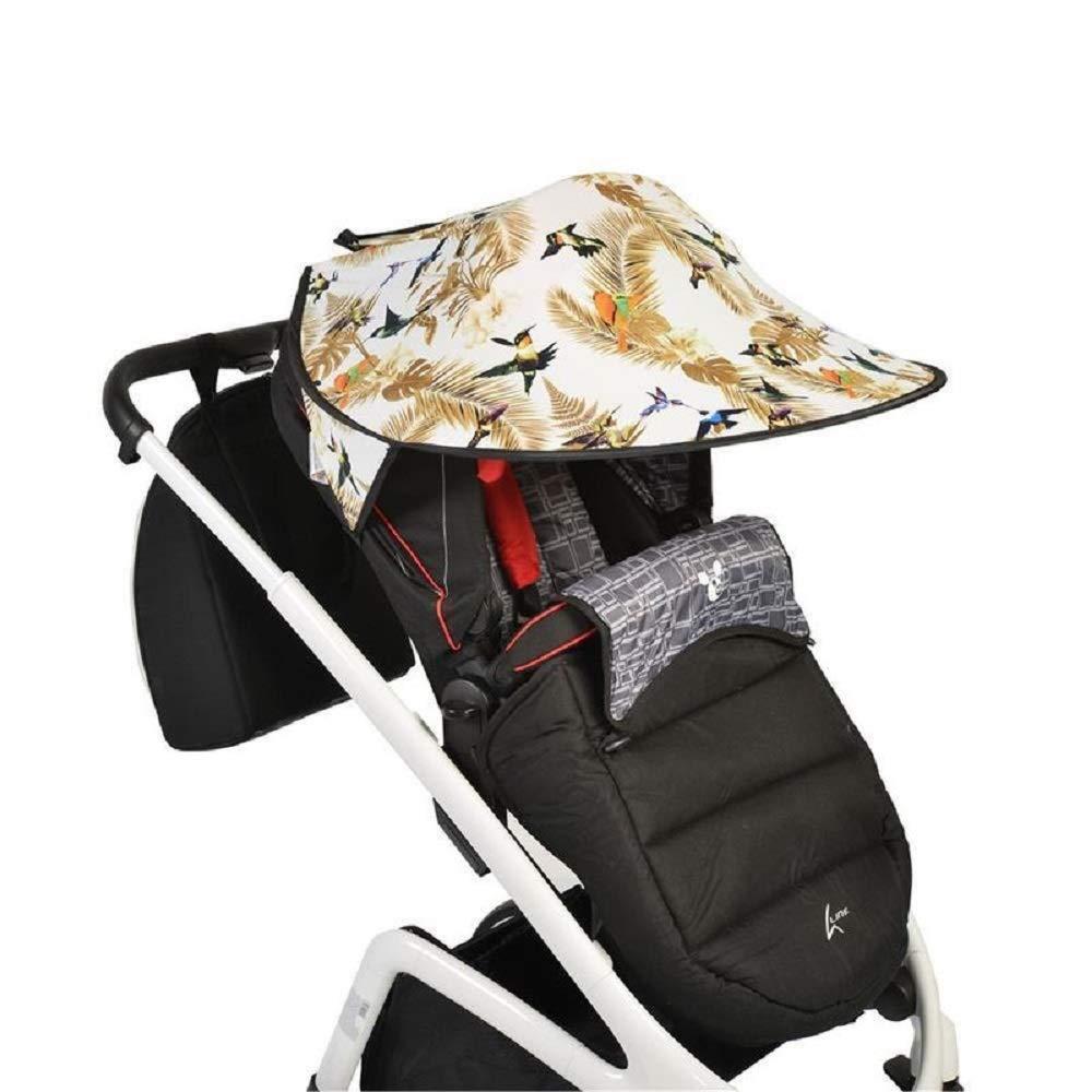 Cangaroo Universal Sonnenschutz für den Kinderwagen Vögel Bild 1