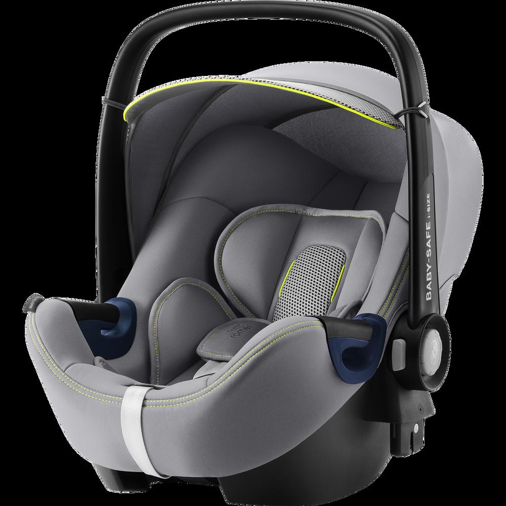Britax Römer 'Baby-Safe 2 i-Size Cool Flow' Babyschale 2020 Silver Gruppe 0+, mit Base Bild 1