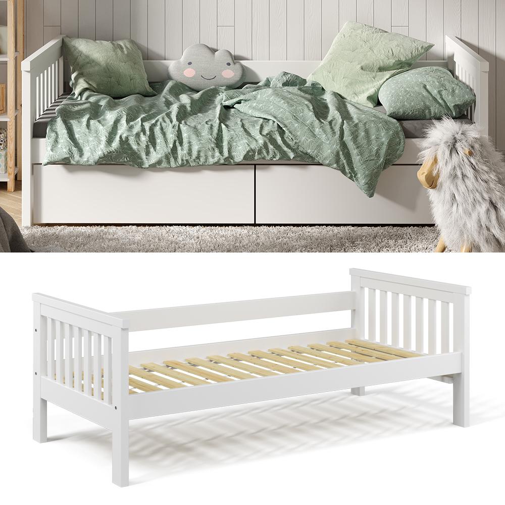 VitaliSpa 'Luna' Kinderbett, weiß, 90x200cm Bild 1