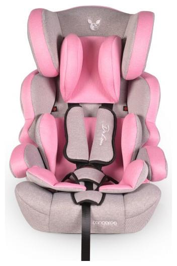 Cangaroo 'Deluxe' Autokindersitz Gruppe 1/2/3 (9 - 36 kg) pink Bild 1