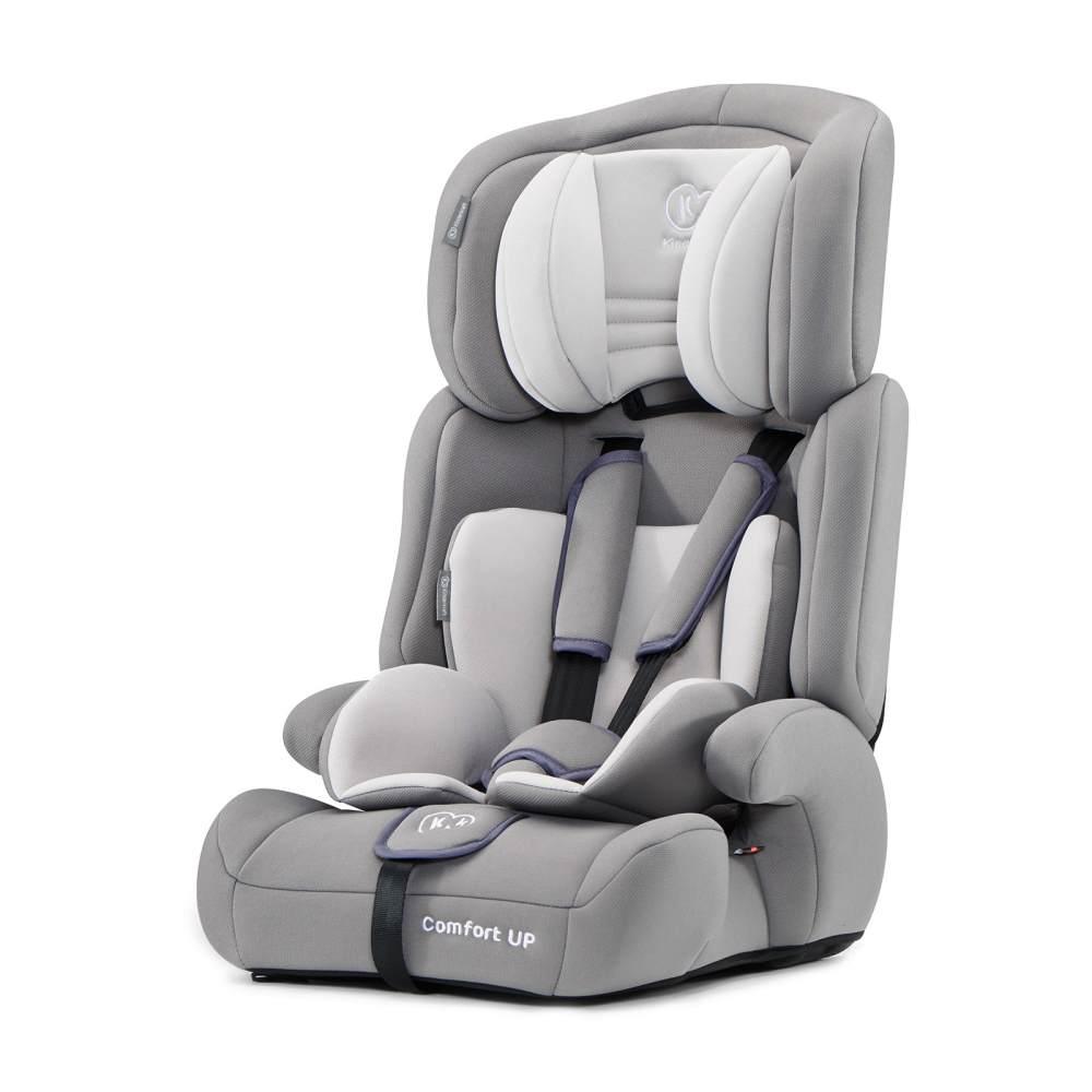 Kinderkraft 'Comfort UP' Autokindersitz Grau, 9 bis 36 kg (Gruppe 1/2/3), mit Seitenaufprallschutz, 5-Punkt-Sicherheitsgurt Bild 1