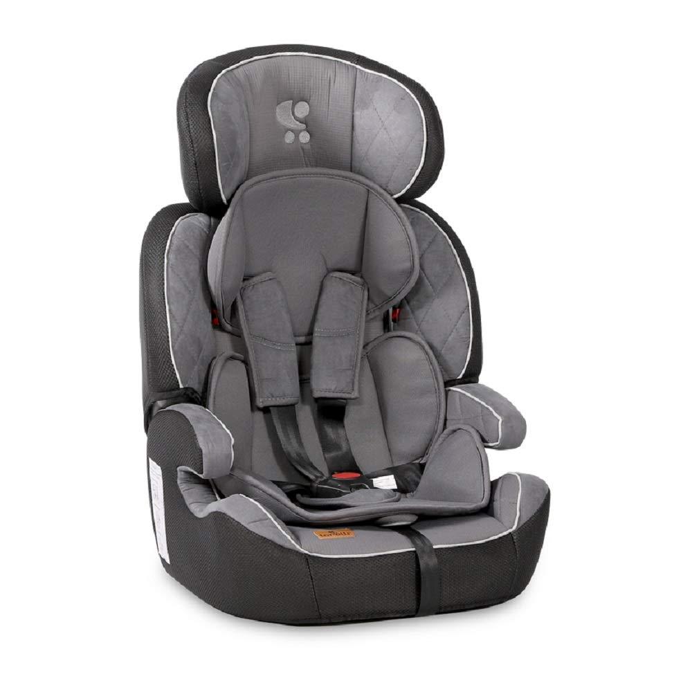 Lorelli Kindersitz Navigator Gruppe 1/2/3 (9-36 kg) 1 bis 12 Jahre umwandelbar, Farben:silbergrau Bild 1
