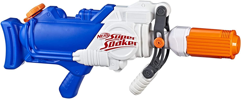 Nerf 'Super Soaker Hydra' Wasserpistole mit 1,9 Liter fassenden Wassertank, beeindruckende Größe, ab 7 Jahren Bild 1