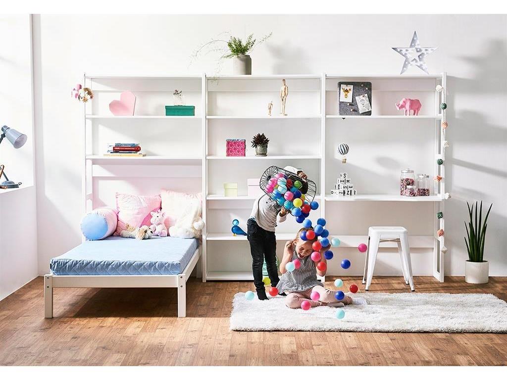 HOPPEKIDS Storey Regal Set mit Schreibtisch und Einzelbbett 90x200 cm Bild 1