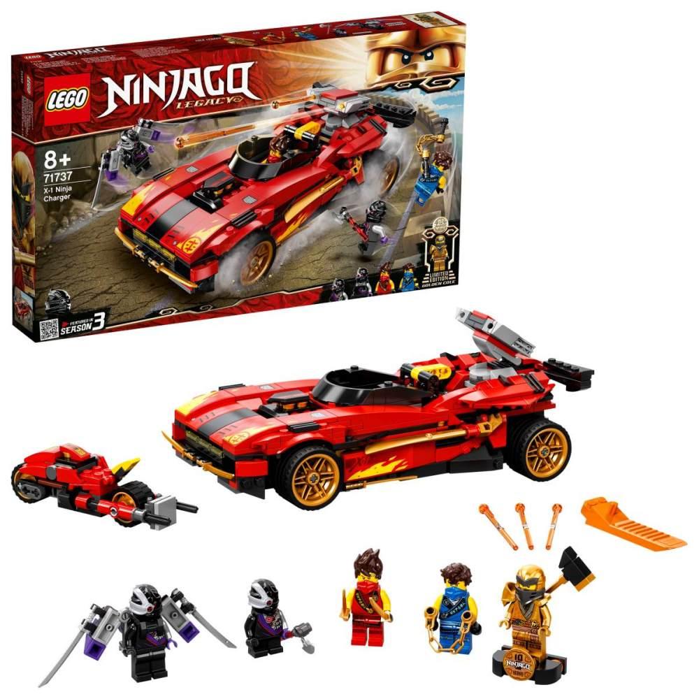 LEGO NINJAGO 71737 'X-1 Ninja Supercar', 599 Teile, ab 8 Jahren Bild 1