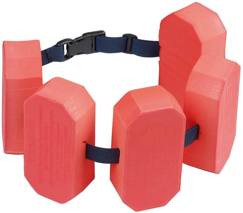 BECO 'Sealife' Schwimmgürtel, rot, verstellbares Gurtband mit Patentverschluss, für Kinder von 2-6 Jahren und 15-30 kg Körpergewicht Bild 1