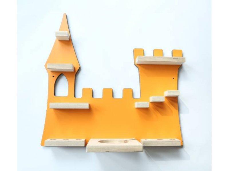 Schreinerei Linden 'Schloss' Tonie Regal orange Bild 1