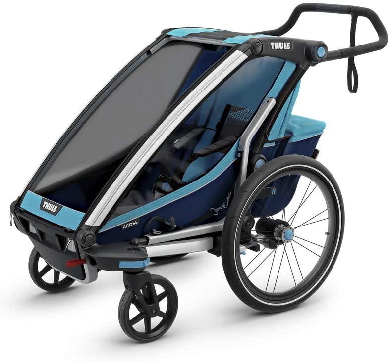 Thule 'Chariot Cross' Fahrradanhänger 2020 Blau, 1-Sitzer Bild 1