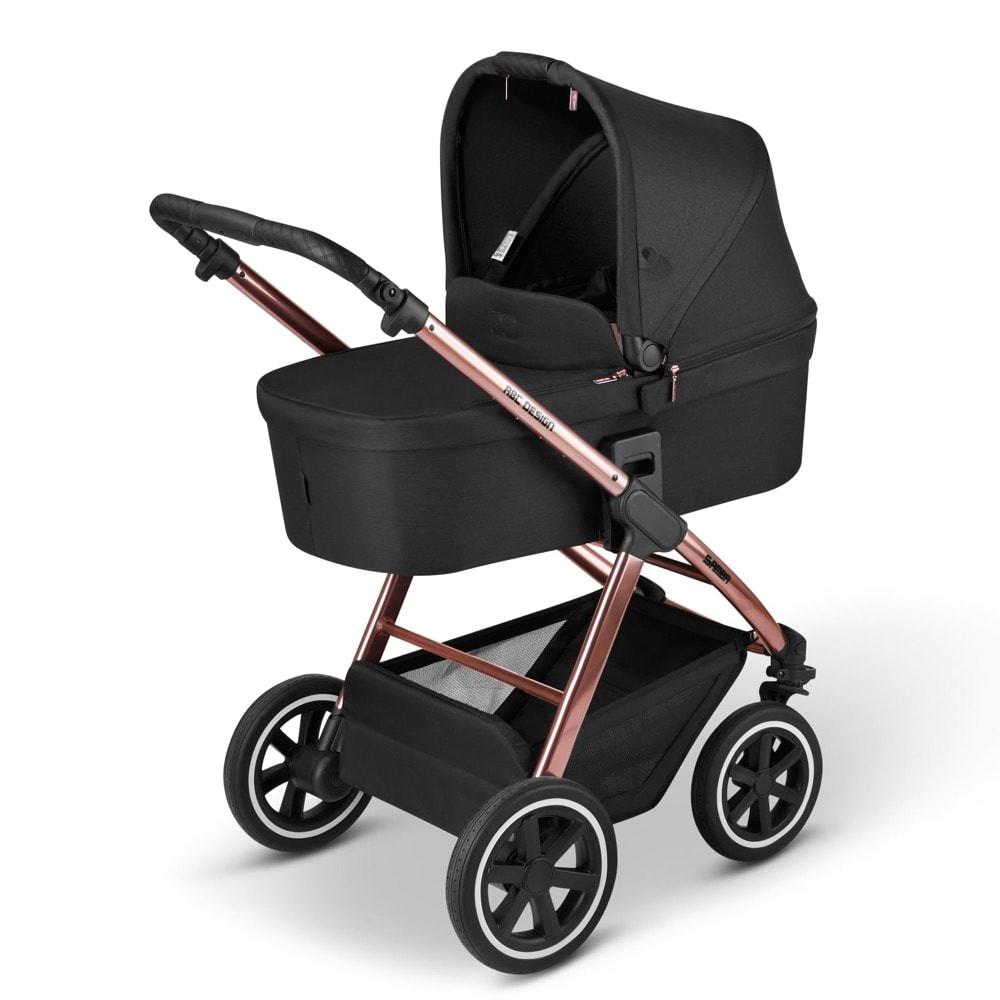 ABC Design 'Samba' Kombikinderwagen 2 in 1 2021 Rose Gold inkl. faltbarer Babywanne, Sportsitz und integriertem Sonnensegel Bild 1