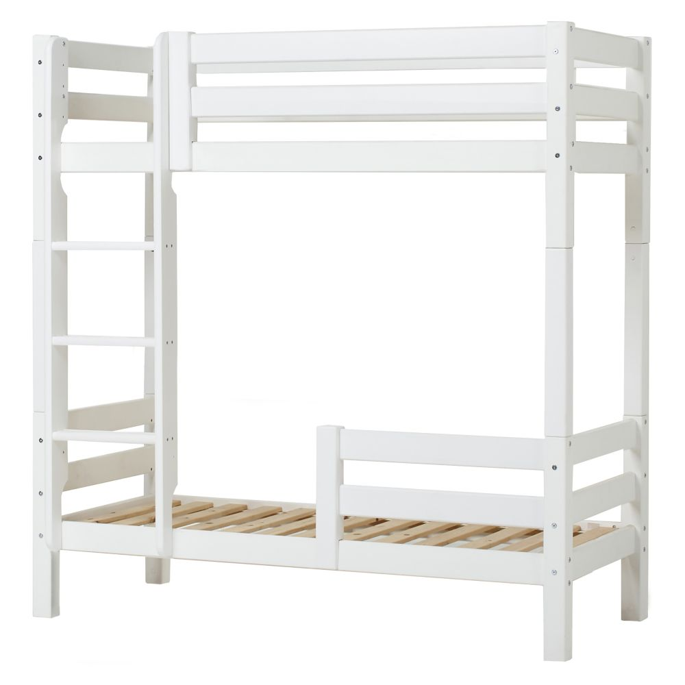 Hoppekids PREMIUM Hoch-Etagenbett in 70 x 160 cm mit gerader Leiter Bild 1