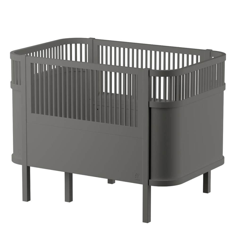 Sebra Kombi-Kinderbett grau Bild 1