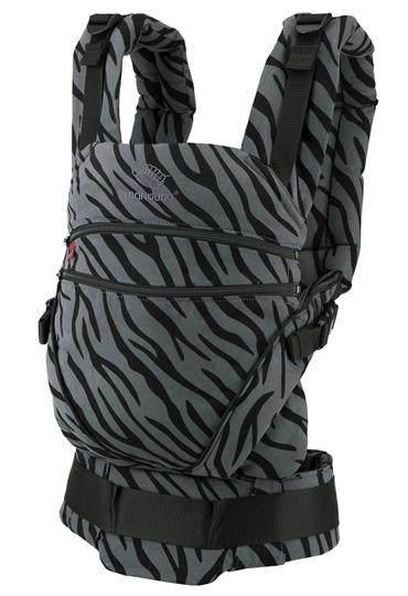 Manduca 'XT Cotton Babytrage' Limited Edtion 2020 Zebra, 3 Tragepositionen Bild 1