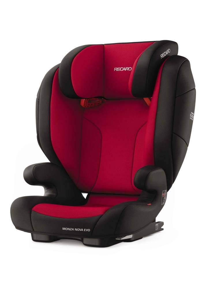 Recaro 'Monza Nova Evo Seatfix' Autokindersitz Racing Red, 15 bis 36 kg (Gruppe 2/3) Bild 1