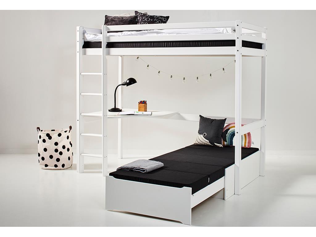 Hoppekids 'Basic' Funktionsbett weiß, inkl. Ausstattung Bild 1