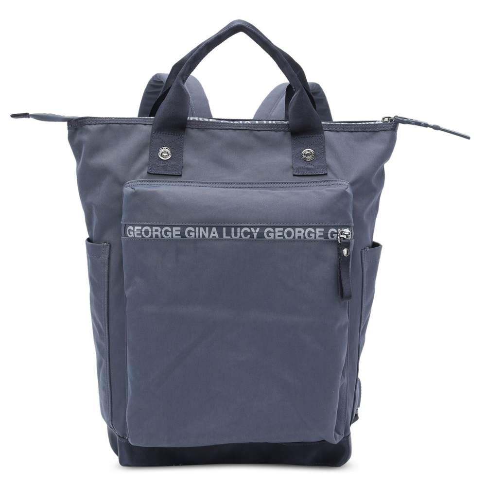 George Gina & Lucy 'Minor Monikissed' Wickelrucksack Navy, inkl. Wickelunterlage und Flaschenhalter Bild 1